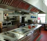State-of-the-art kitchen at Belling Hospitality Centre