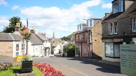 West Kilbride Main Street