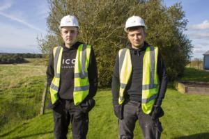 2 new apprentices at Hope Homes