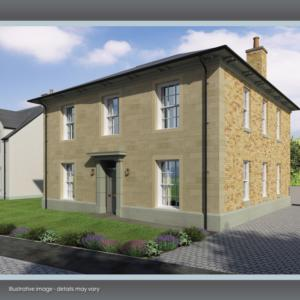 The Admiral  - Prestigious 5 bedroom Georgian style family home on the stunning North Ayrshire coast.