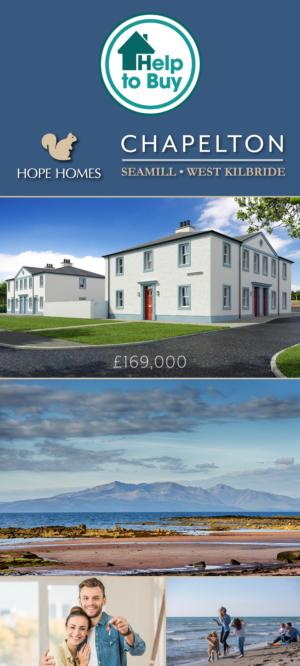 Get Help To Buy your own home at Chapelton, Seamill, West Kilbride