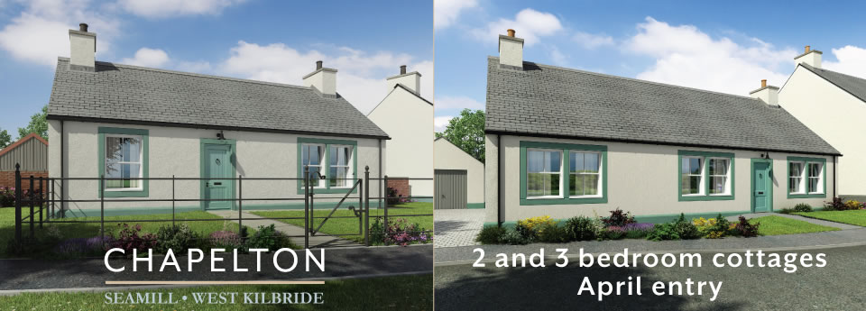 2 bedroom and 3 cottages � April entry