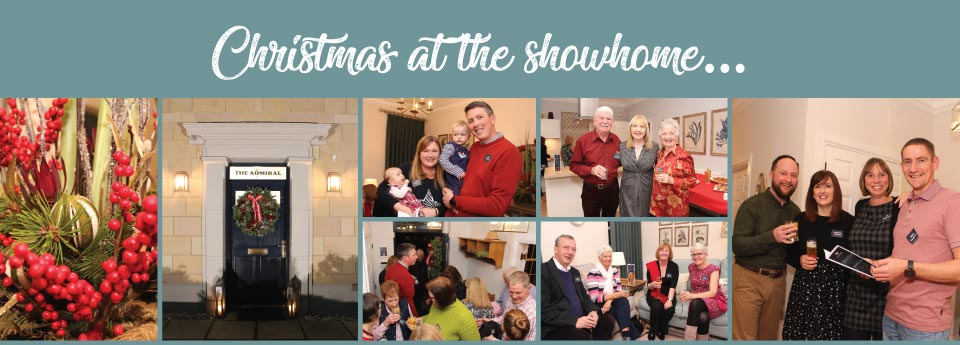 Christmas at the showhome